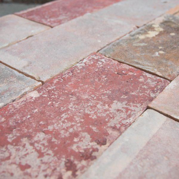 pavimento cotto rettangolare