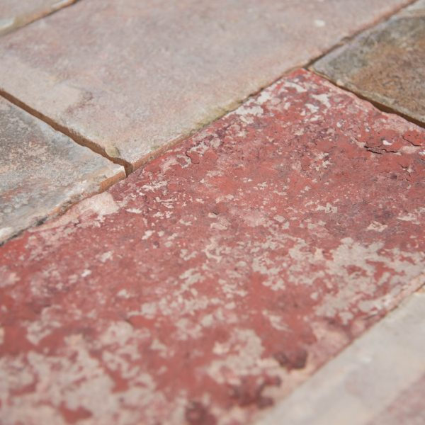 pavimento cotto quadrato colori misti